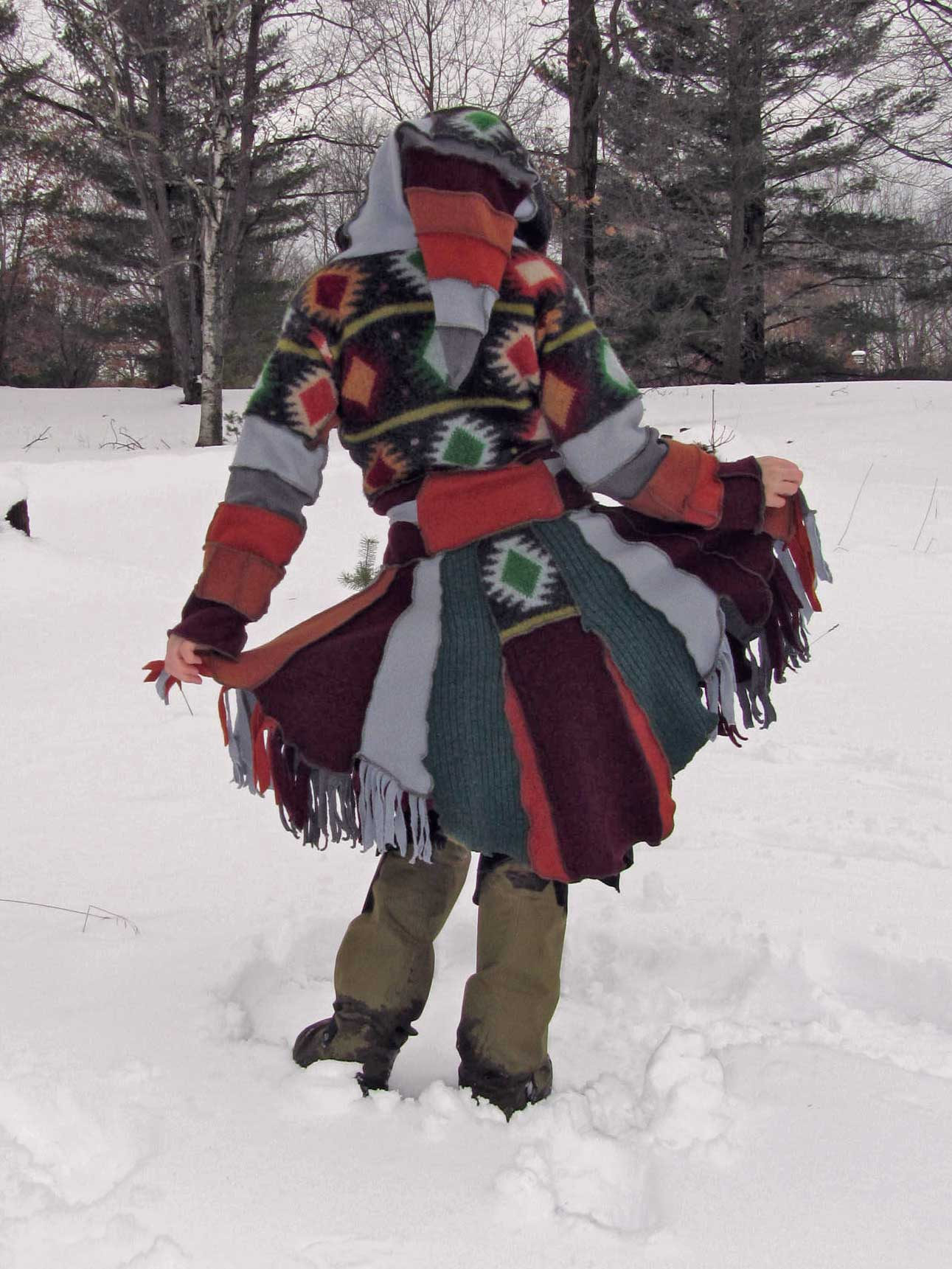 The French Canadian Fur Trapper Wizard Coat A Woman A Day